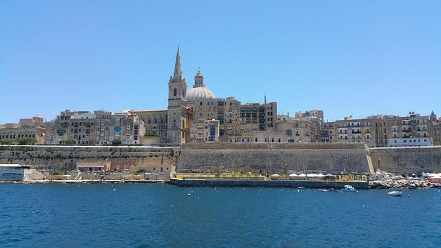 pobřeží na Maltě