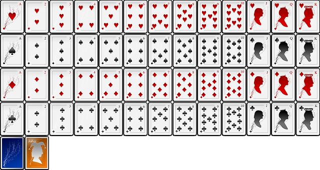 vyskládané karty