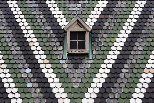 barevná střecha