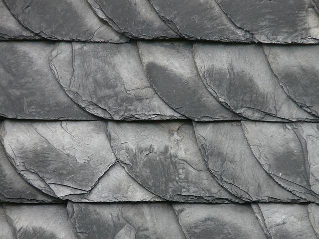 břidlicové střechy