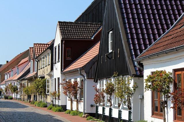 ulice s domy