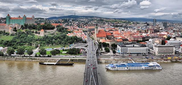panorama Bratislavy