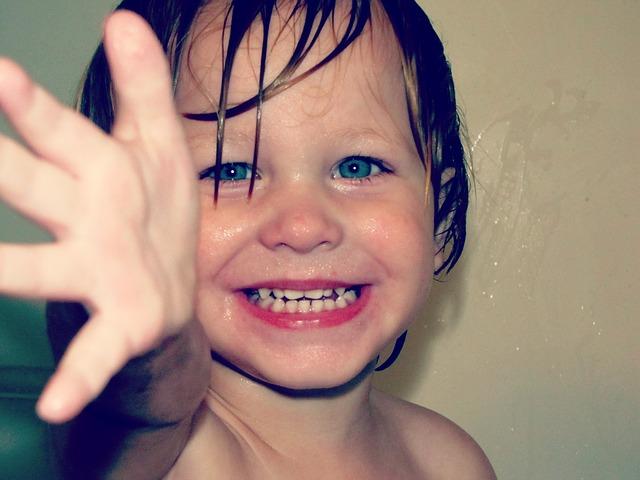 šťastný úsměv