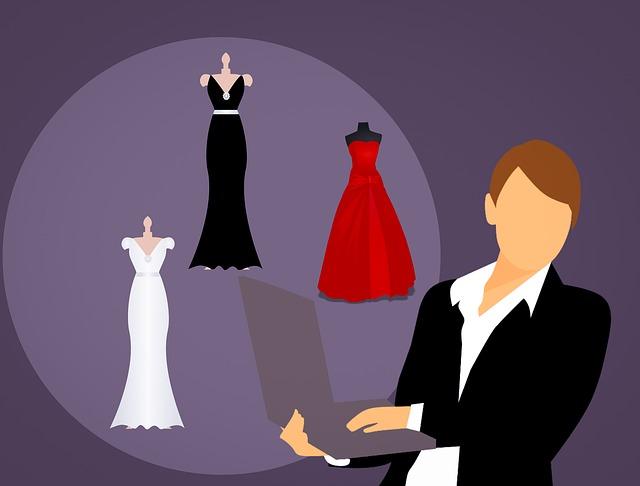 nákup šatů
