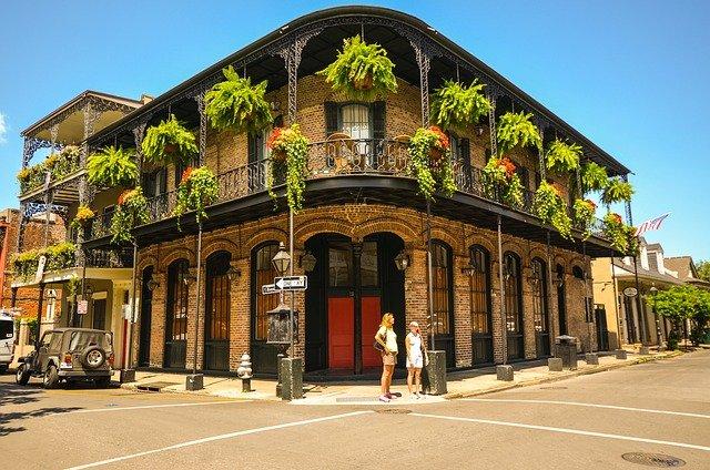 budova v New Orleans