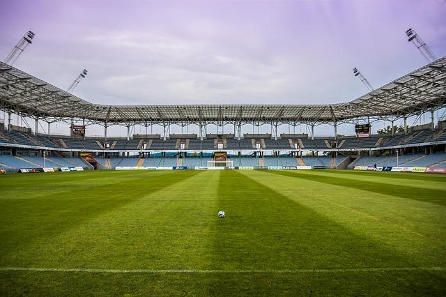 hřiště na fotbal