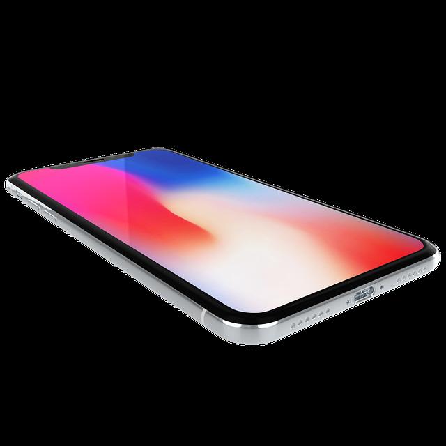 barevný IPhone