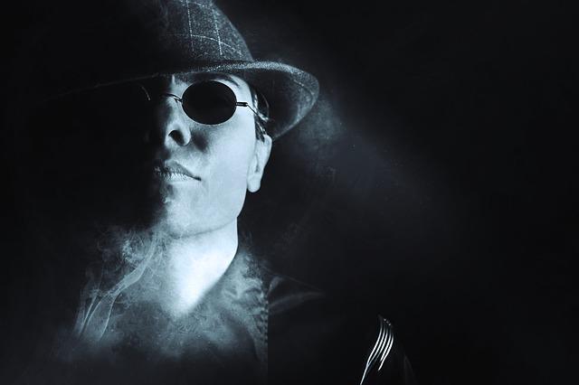 muž v klobouku