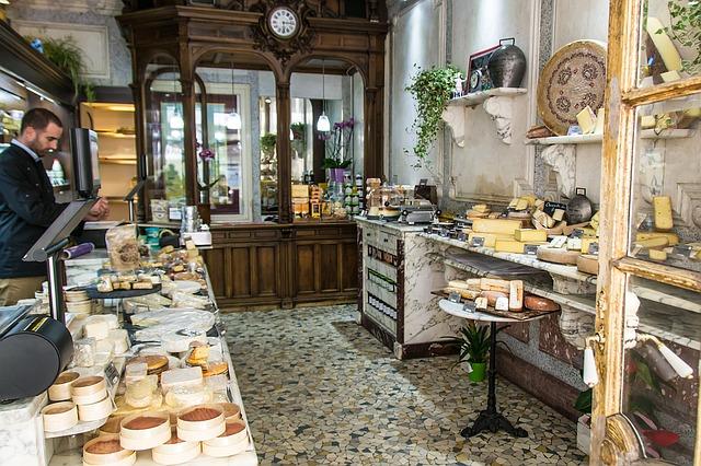 obchod se sýrem