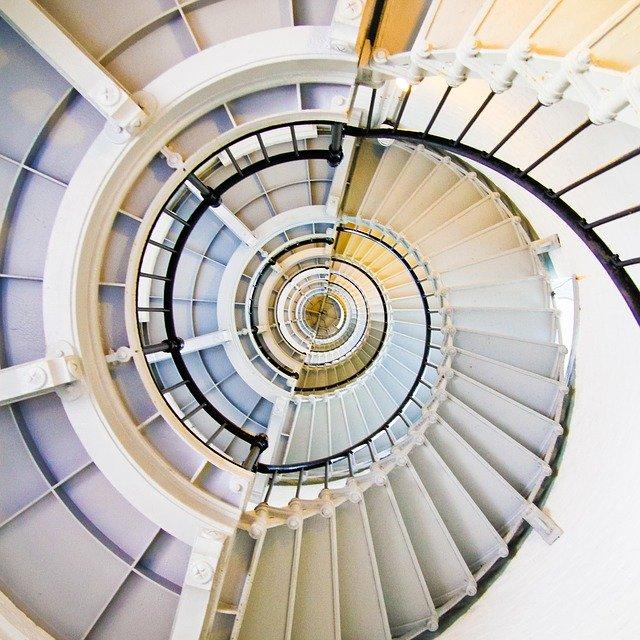 Zatočené schodiská